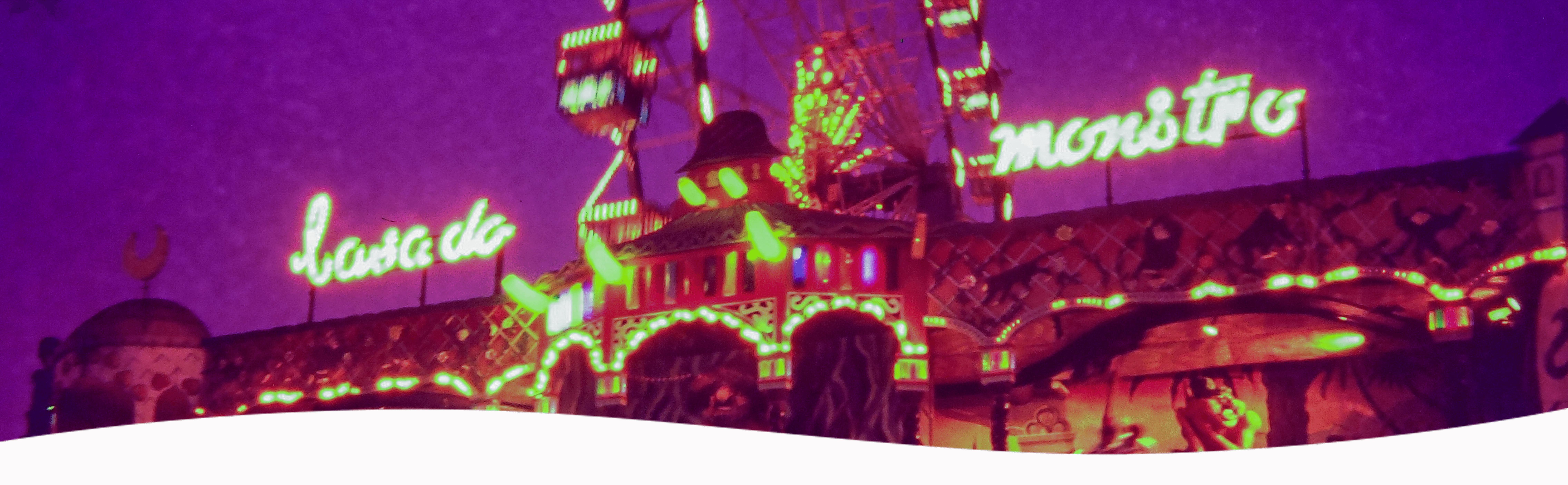 Sustos e muita diversão: você se lembra da Casa do Monstro no Playcenter?